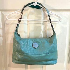 Aqua Coach Handbag